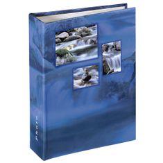 Hama foto album Singo, 13x16,5 cm, 100 strani, moder