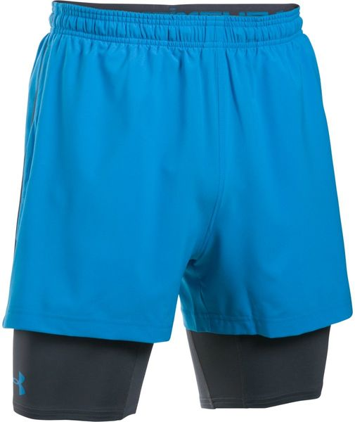 Under Armour Mirage 2-in-1 Short Brilliant Blue Brilliant Blue L