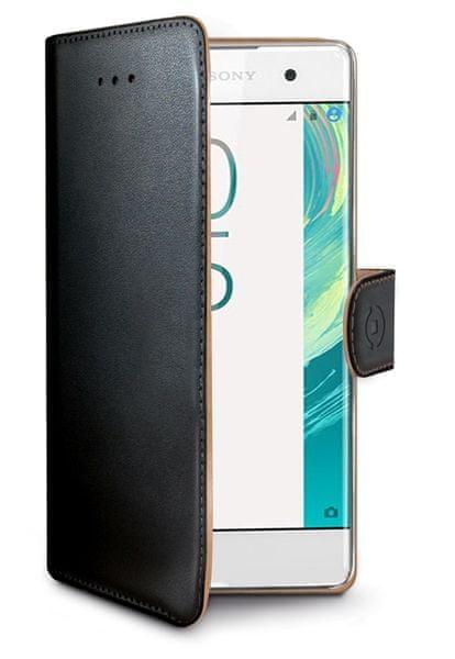 Celly Pouzdro Wally, Sony Xperia X, černá