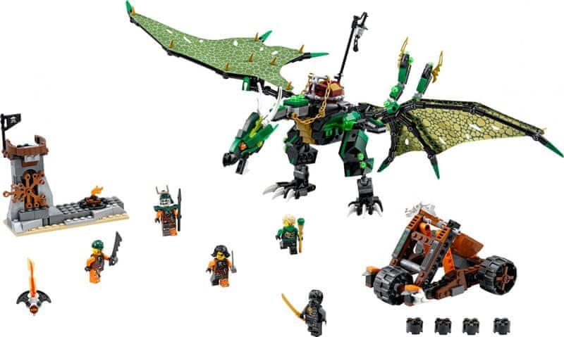 LEGO® Ninjago 70593 Zelený drak NRG
