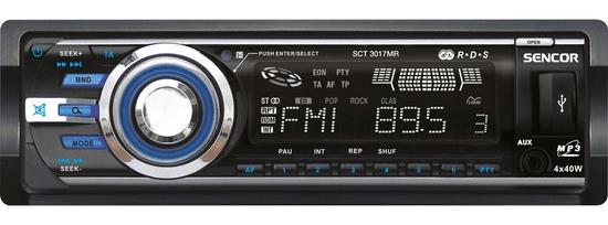 SENCOR radio samochodowe SCT 3017MR
