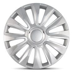 """AutoStyle pokrovi platišč Avalone Silver 14"""""""