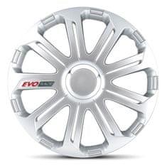 """AutoStyle pokrovi platišč EVO Race Silver 16"""""""