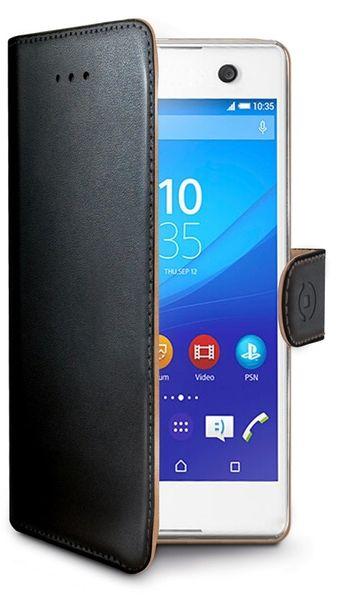 Celly Pouzdro Wally, Sony Xperia M5, černá