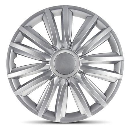 """AutoStyle pokrovi platišč Intenso Silver 16"""""""
