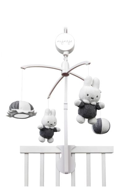 Tiamo Kolotoč Miffy grey music mobile