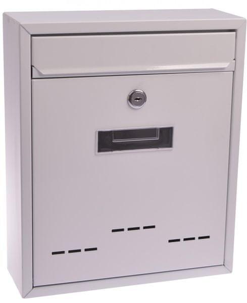 M.A.T. Group schránka poštovní RADIM M 260x310x90mm Bílá
