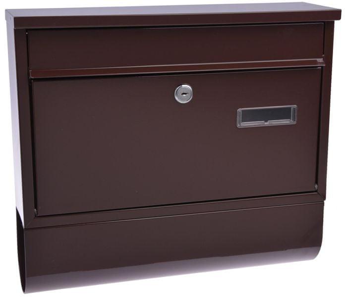 M.A.T. Group schránka poštovní RADIM 360x320x90mm Hnědá