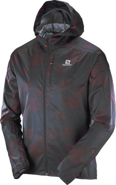 Salomon Fast Wing Graphic Hoodie L