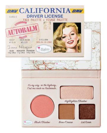 theBalm paleta do makijażu AutoBalm - California - 4,15 g