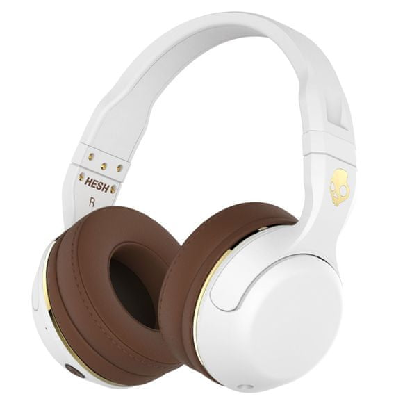 Skullcandy Hesh 2 Wireless, bílá/hnědá