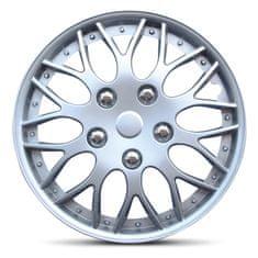 """AutoStyle autostyle-pokrovi platišč Missouri Silver 14"""" - Odprta embalaža"""