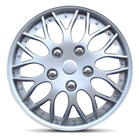 "AutoStyle pokrovi platišč Missouri Silver 16"""