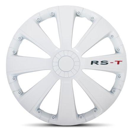 """AutoStyle pokrovi platišč RS-T White 15"""""""