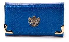 LYDC portfel damski ciemnoniebieski