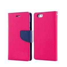 Havana preklopna torbica Fancy Diary za LG X Screen K500, roza-modra