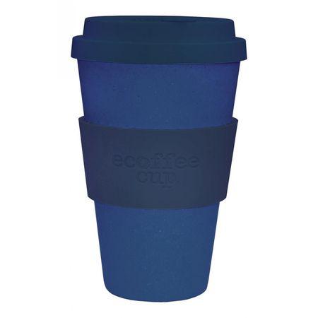 Ecoffee Deep Blue 14oz kávés pohár