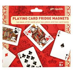Gift Republic Magnetky Playing Cards