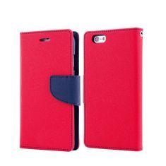 Havana preklopna torbica Fancy Diary za Huawei P9, crveno - plava