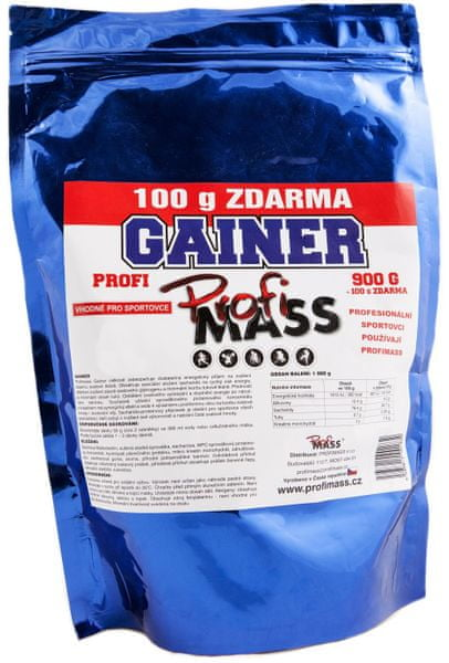 ProfiMass Profi Gainer 13 1000 g čokoláda
