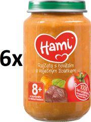 Hami Paradajky s hovädzím a zemiakmi - 6 x 200g