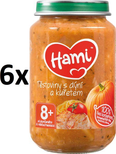 Hami Těstoviny s dýní a kuřetem - 6 x 200g