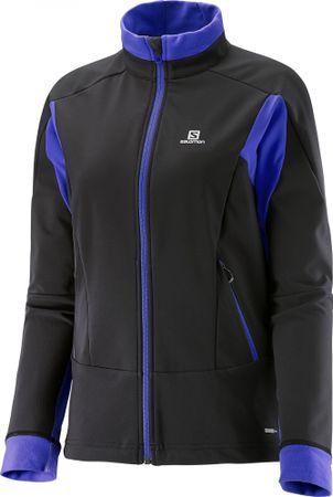 Salomon ženska jakna Momemtum Softshell, črna, M