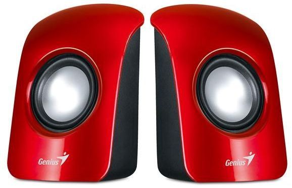 Genius SP-U115 1,5W USB red