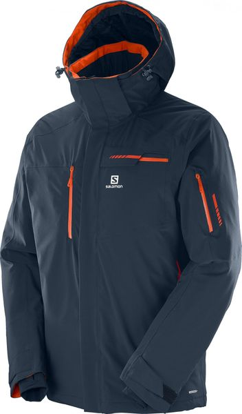 Salomon Brilliant Jkt M Big Blue-X XL