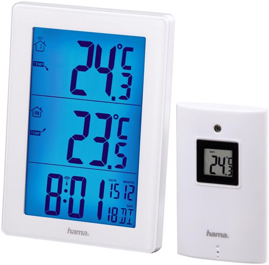 Hama vremenska postaja EWS-3000, bela - Odprta embalaža
