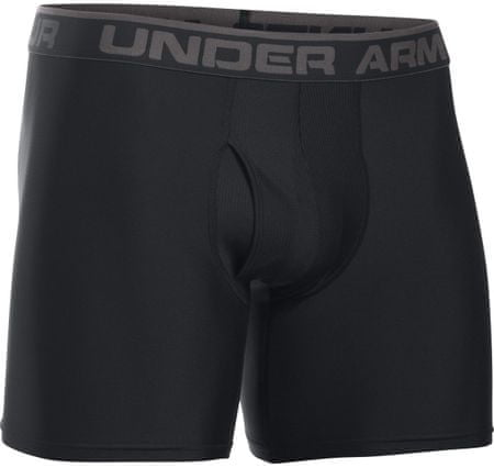 "Under Armour bokserice The Original 6"", sivo/črna, XXL"