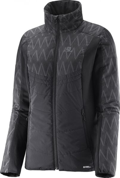 Salomon Drifter Mid Jacket W Black/Black S