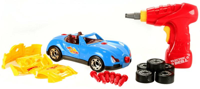 Lamps Stavebnice auto s vrtačkou