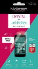 Havana MyScreen Protector zaštitna folija Antireflex + Crystal za Samsung Galaxy J3 (2016), 2 komada