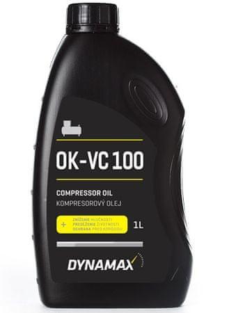 DYNAMAX OK-VC 100 Olej pro pneu nářadí a kompresory