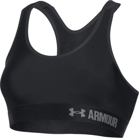 Under Armour športni nederček Armour Mid Solid, črn, L