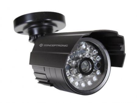 Conceptronic zunanja lažna kamera z IR LED