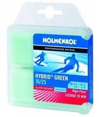 Holmenkol wax Hybrid Green
