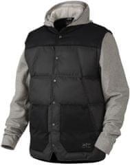 Oakley moška jakna Ambassador Fleece, črno-siva