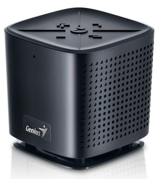 Genius SP-920BT, 6W, Bluetooth, dobíjecí, mikrofon, černý (31731061100)