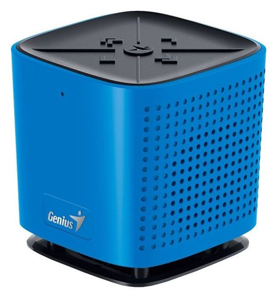 Genius SP-920BT, 6W, Bluetooth, dobíjecí, mikrofon, modrý 31731061104)