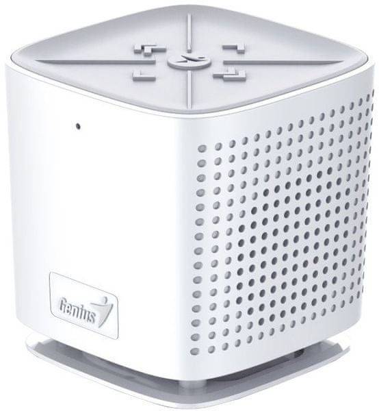 Genius SP-920BT, 6W, Bluetooth, dobíjecí, mikrofon, bílá (31731061101)