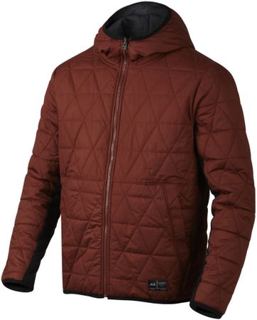 Oakley moška bunda Two Face Fleece, opečnata, S