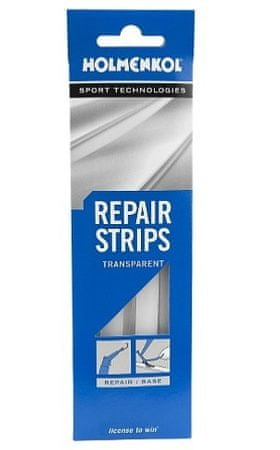 Holmenkol wax Repair Strips Transparent, 5 kosov