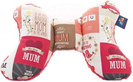 CuddlyZOO Dětský stabilizační polštářek - máma/melounová