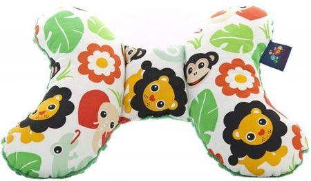 CuddlyZOO Dětský stabilizační polštářek - safari/zelená