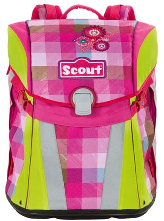 Scout Školní batoh Sunny květiny