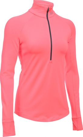 Under Armour ColdGear Armour 1/2 Zip Brilliance Brilliance Metallic Silver XS