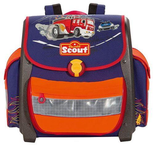 Scout Školní aktovka Buddy hasiči