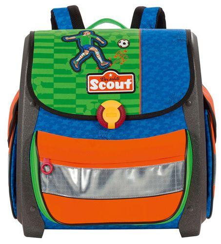 Scout Školní aktovka Buddy fotbal